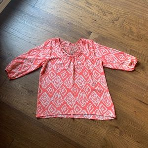 NWOT Maurices Studio Y Lattice Back Top